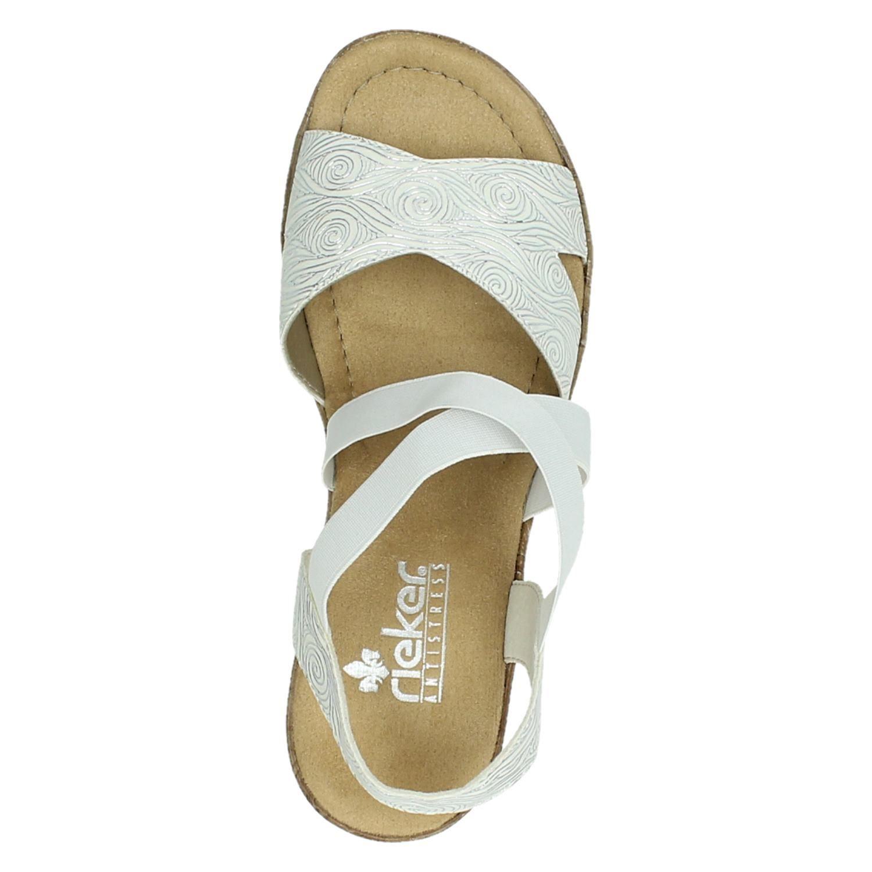 witte dames sandalen rieker