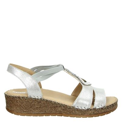 Jenny dames sandalen zilver