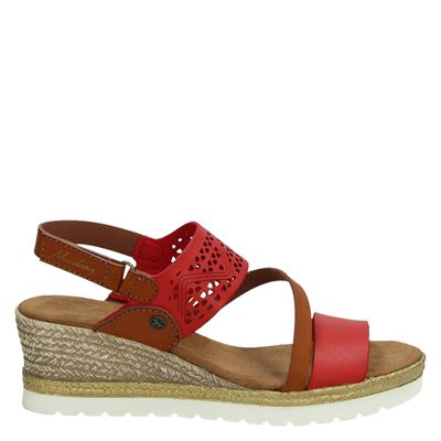 Mustang dames sandalen rood