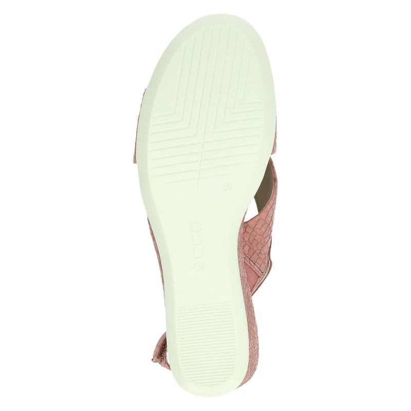 Ecco Shape 35 Wedge - Sandalen - Roze