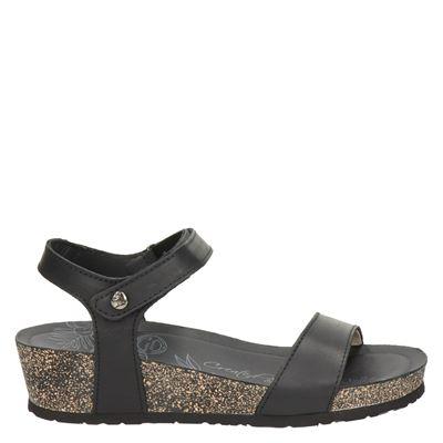Panama Jack dames sandalen zwart