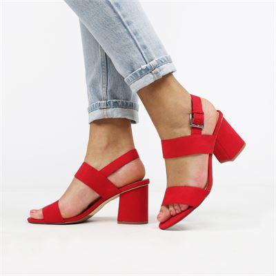 La Strada dames sandalen rood