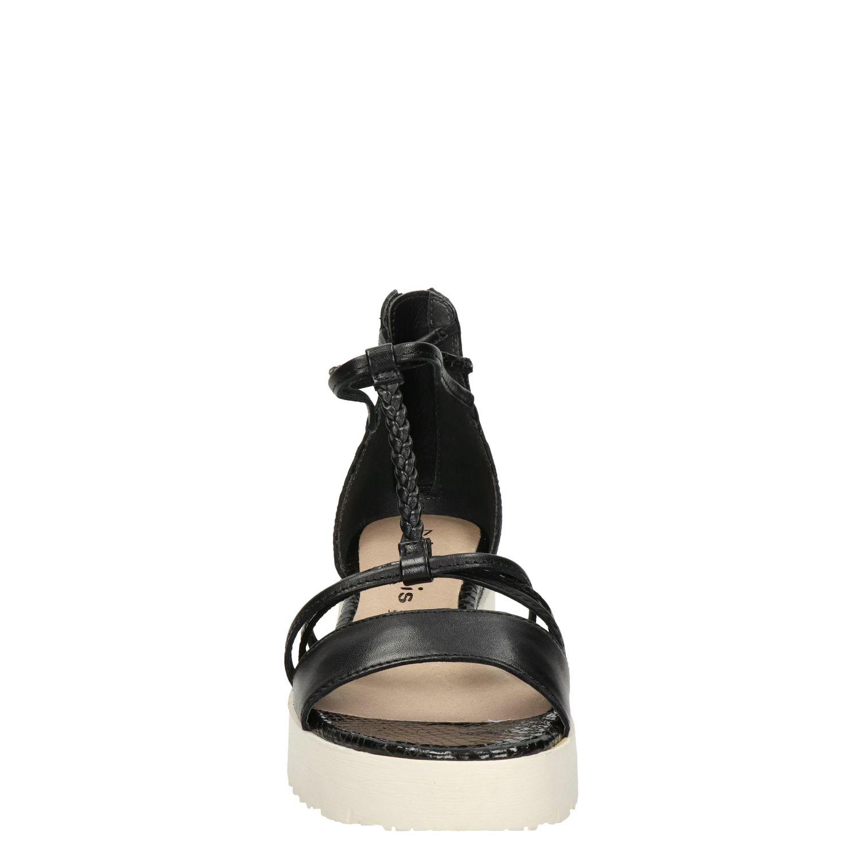 tamaris sandalen zwart nelson