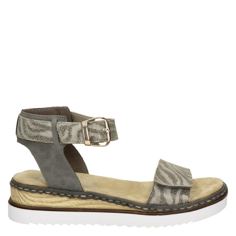 Rieker sandalen grijs/zebraprint online kopen