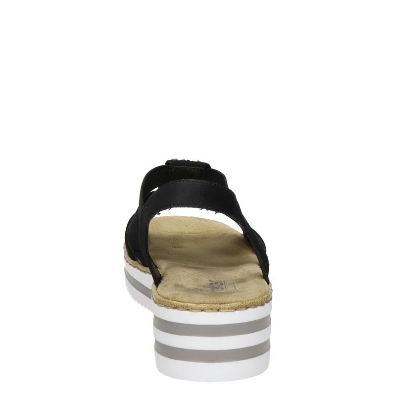 Rieker - Sleehak - Zwart