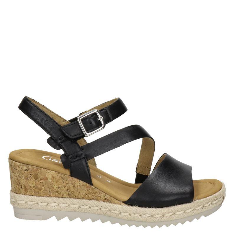 Gabor leren sandalettes zwart online kopen