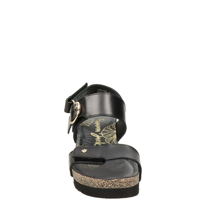 Panama Jack Velvet - Sleehak - Zwart
