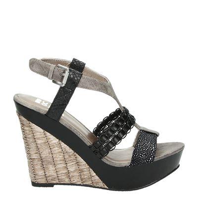 Bullboxer dames sandalen zwart