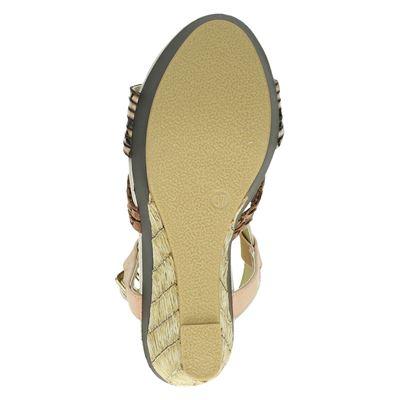 Bullboxer dames sandalen Beige