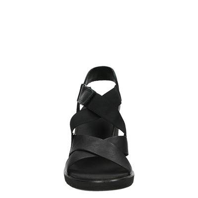 Ecco Freja wedgedames sandalen Zwart