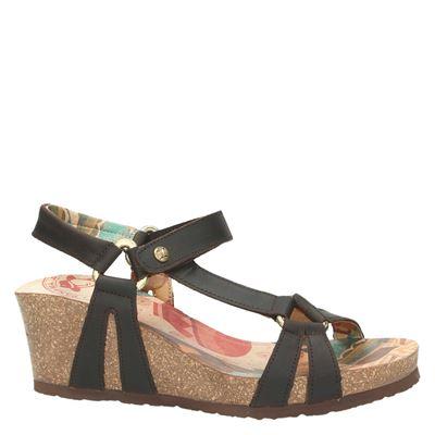 Panama Jack Violettadames sandalen Bruin
