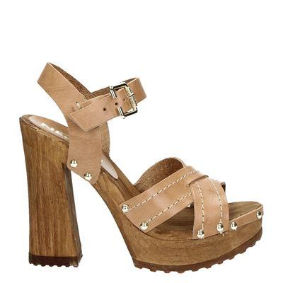 Nelson dames sandalen beige