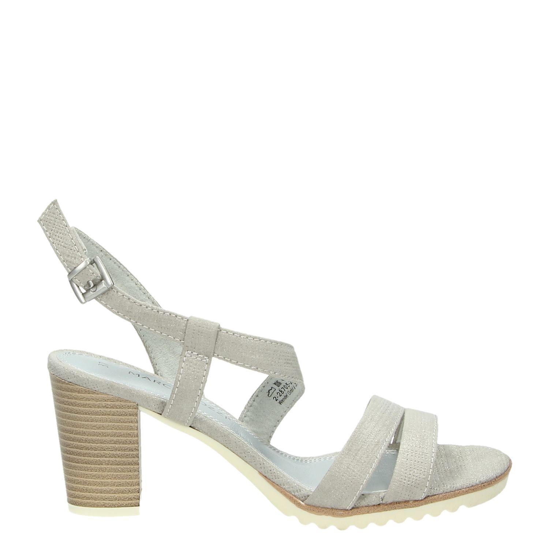 marco tozzi dames sandalen grijs. Black Bedroom Furniture Sets. Home Design Ideas