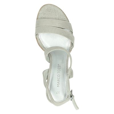 Marco Tozzi dames sandalen Grijs