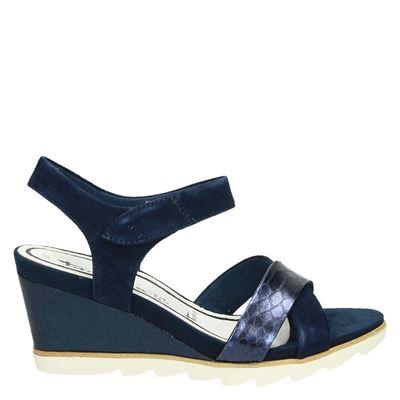 Tamaris dames sandalen blauw