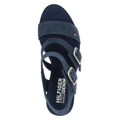 Tommy Jeans dames sandalen Blauw
