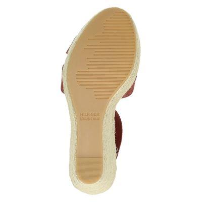 Tommy Jeans dames sandalen Rood