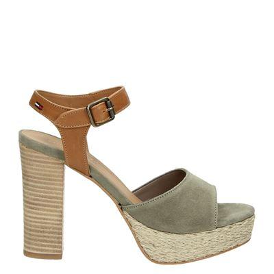 Tommy Jeans dames sandalen groen