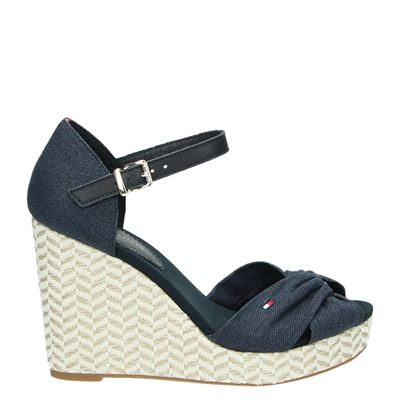 Tommy Hilfiger Sport dames sandalen blauw