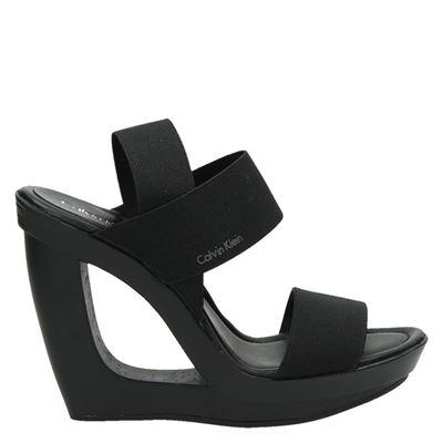 Calvin Klein dames sandalen zwart