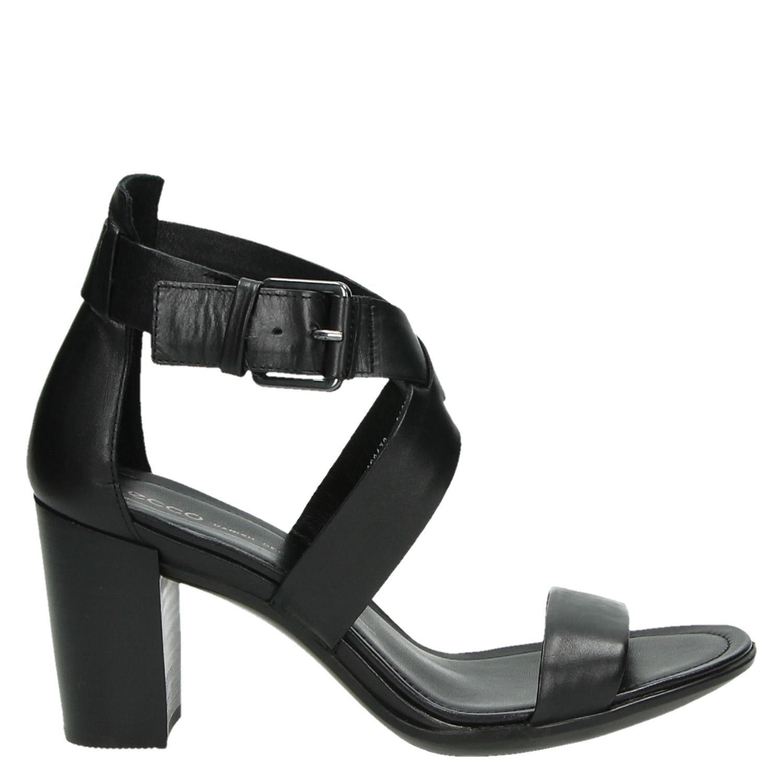 a73ce56e2a97b1 Ecco Shape 65 block dames sandalen zwart
