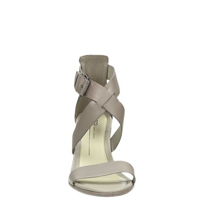 Ecco Shape 65 blockdames sandalen Beige