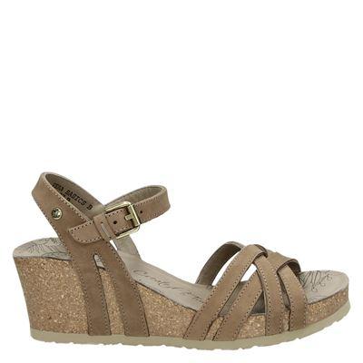 Panama Jack dames sandalen taupe
