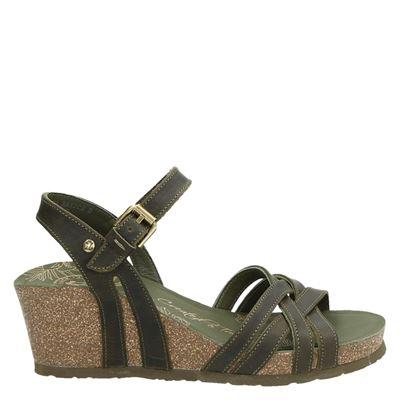 Panama Jack dames sandalen groen