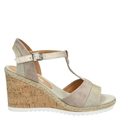 Hobb's dames sandalen beige