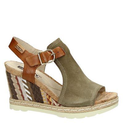 Pikolinos dames sandalen Groen