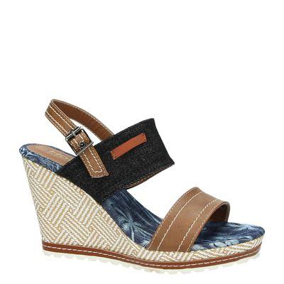 Hobbs dames sandalen Zwart