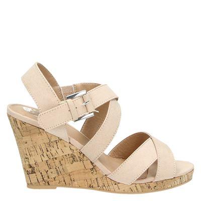 PS Poelman dames sandalen roze