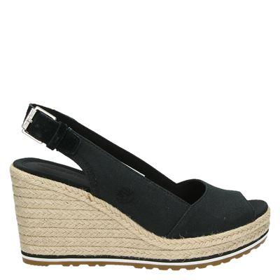 Timberland dames sandalen zwart