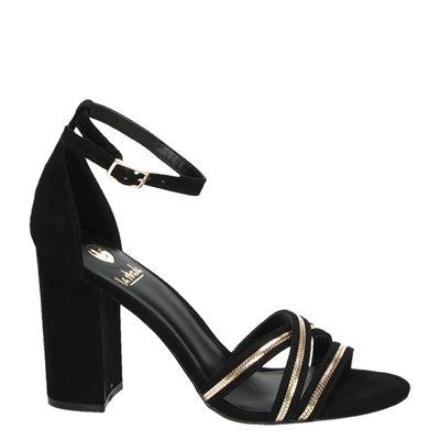 La Strada dames sandalen Zwart