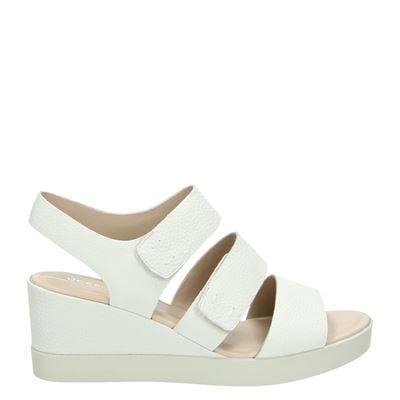 Ecco dames sandalen wit