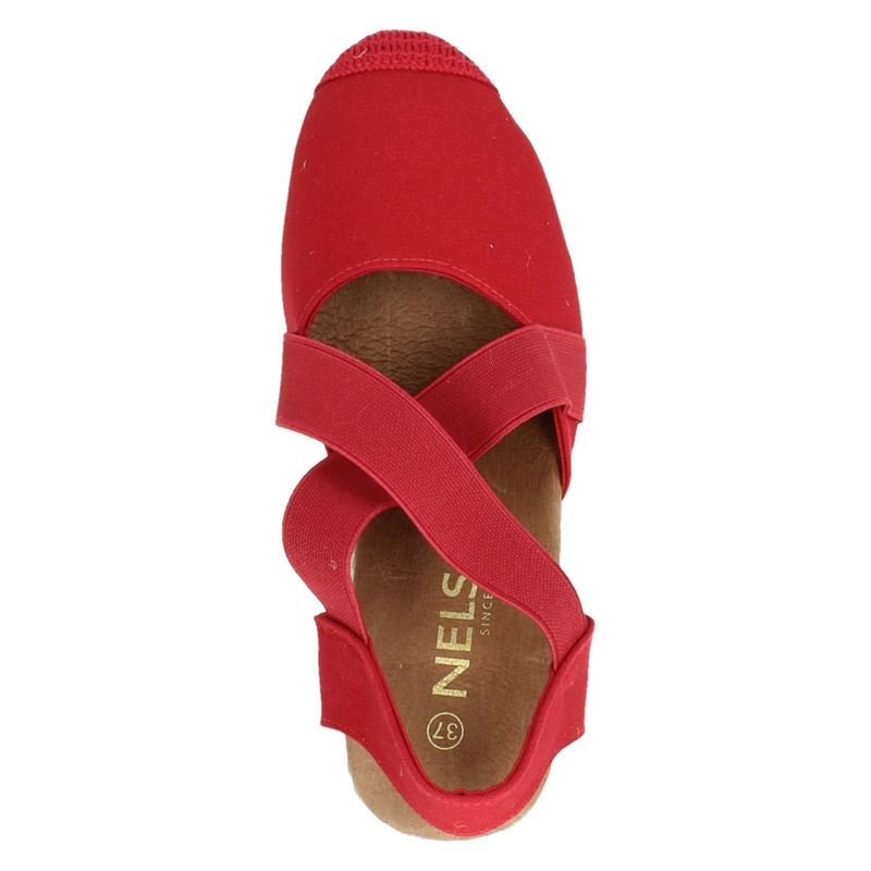 Nelson - Espadrilles - Rood