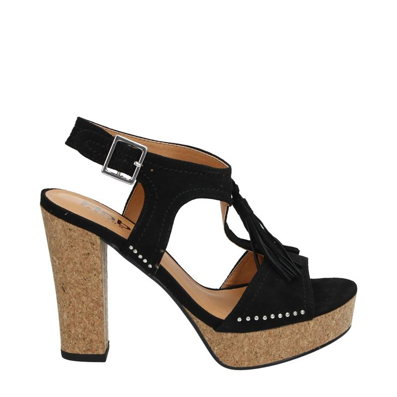 Hobb's - Sandalen - Zwart