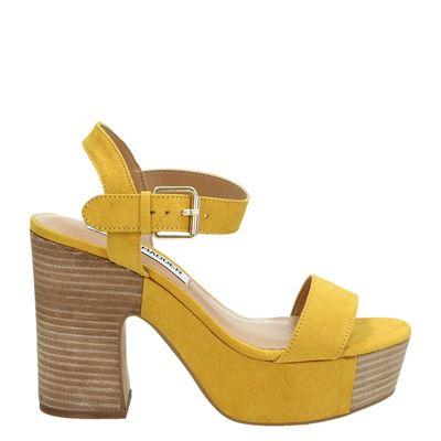 Steve Madden dames sandalen geel