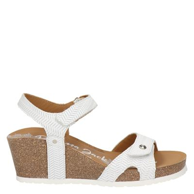 Panama Jack dames sandalen wit