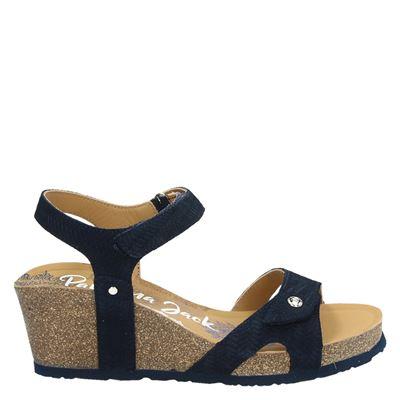Panama Jack dames sandalen blauw