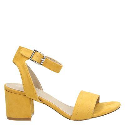 Dolcis dames sandalen geel