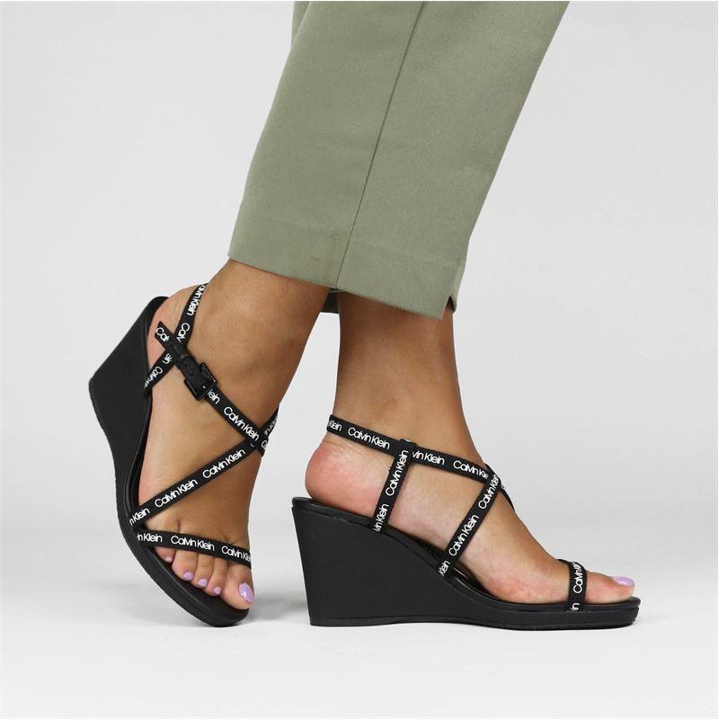 Calvin Klein Bellamine - Sandalen - Zwart