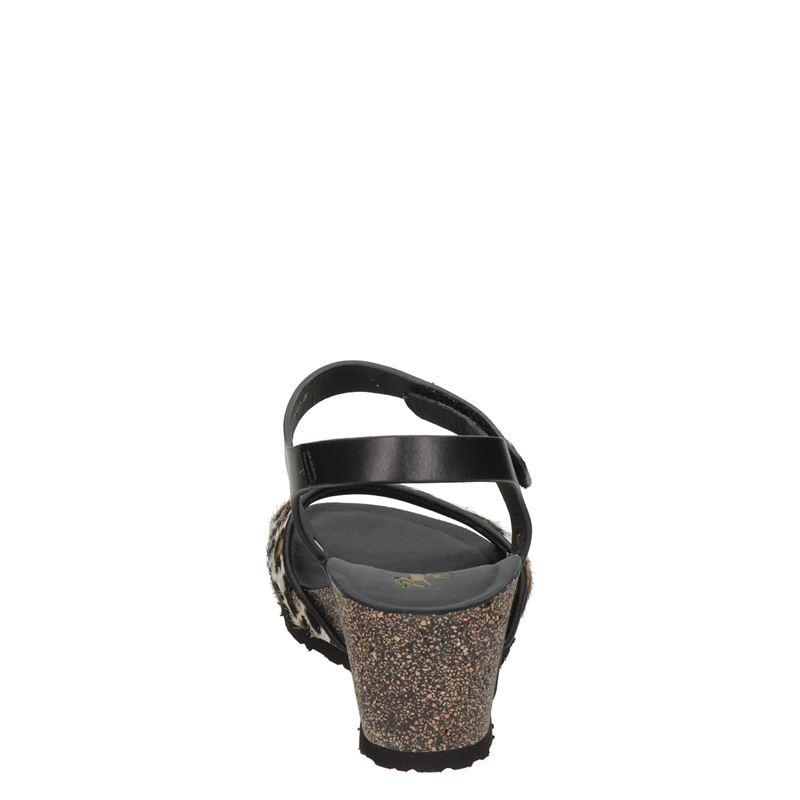 Panama Jack Victory Leopard - Sleehak - Zwart