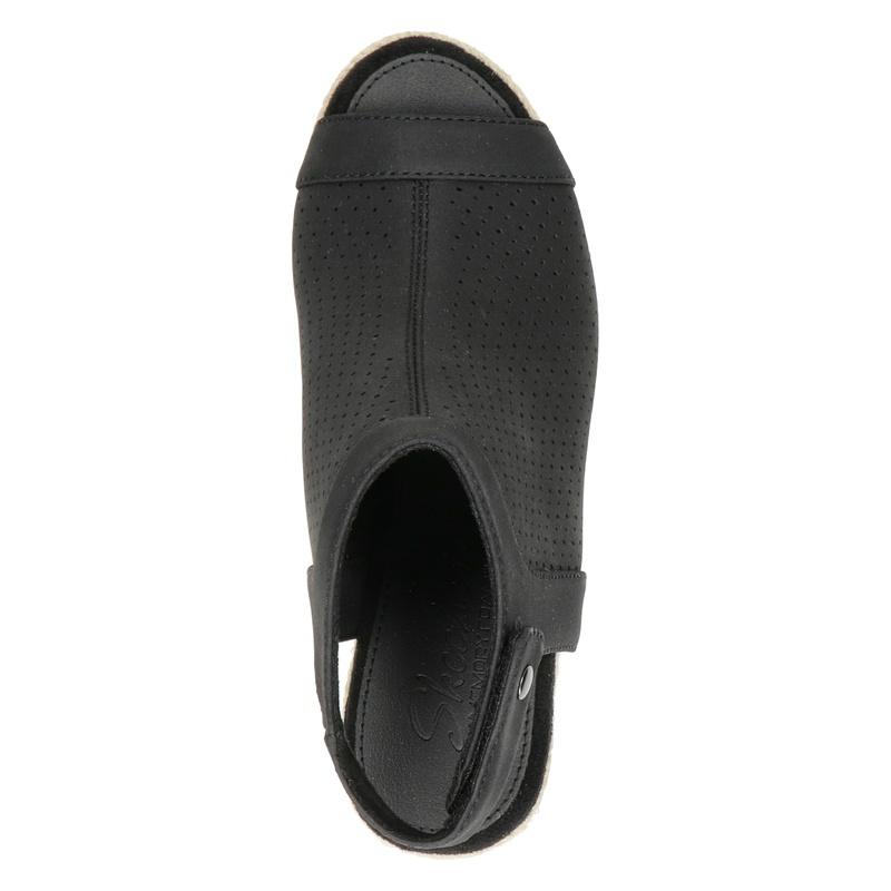 Skechers Cali - Sleehak - Zwart