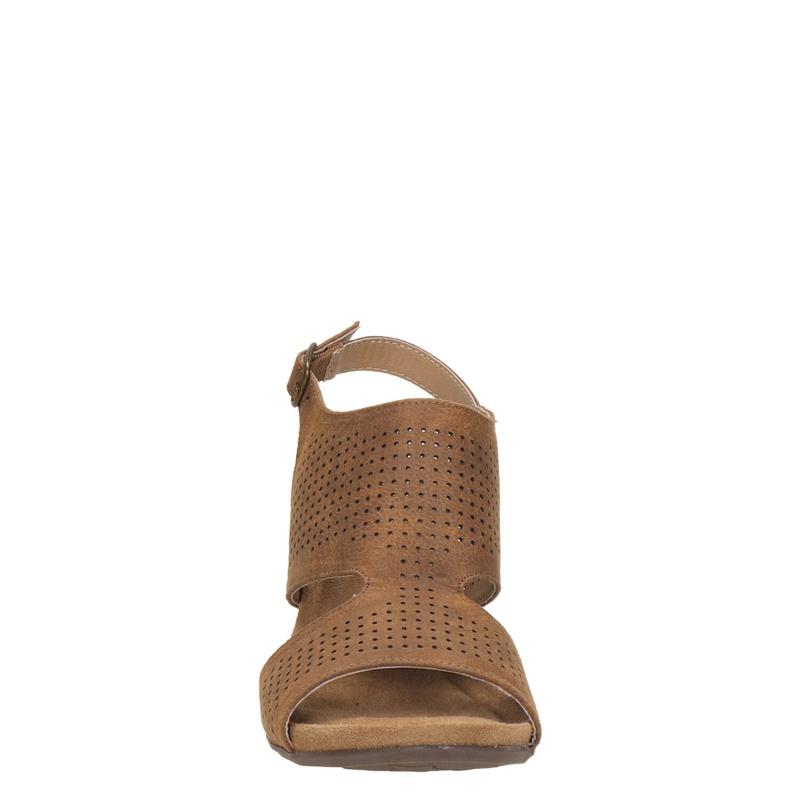 Skechers Cali - Sleehak - Cognac