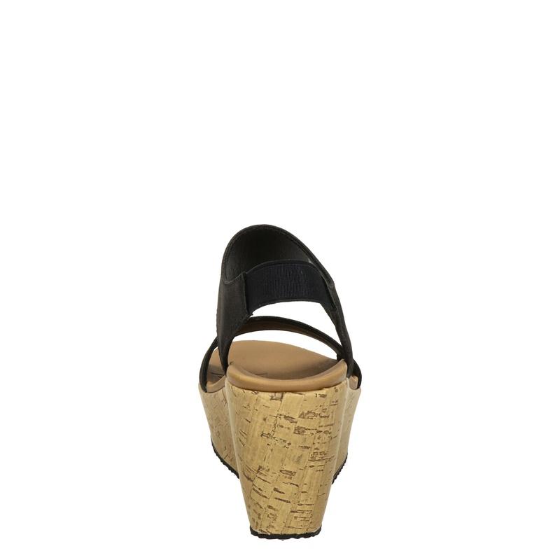 Skechers Brit - Sleehak - Zwart