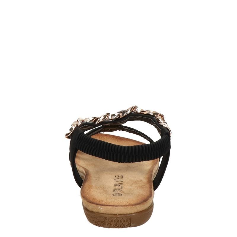 Italian Styles - Sandalen - Zwart