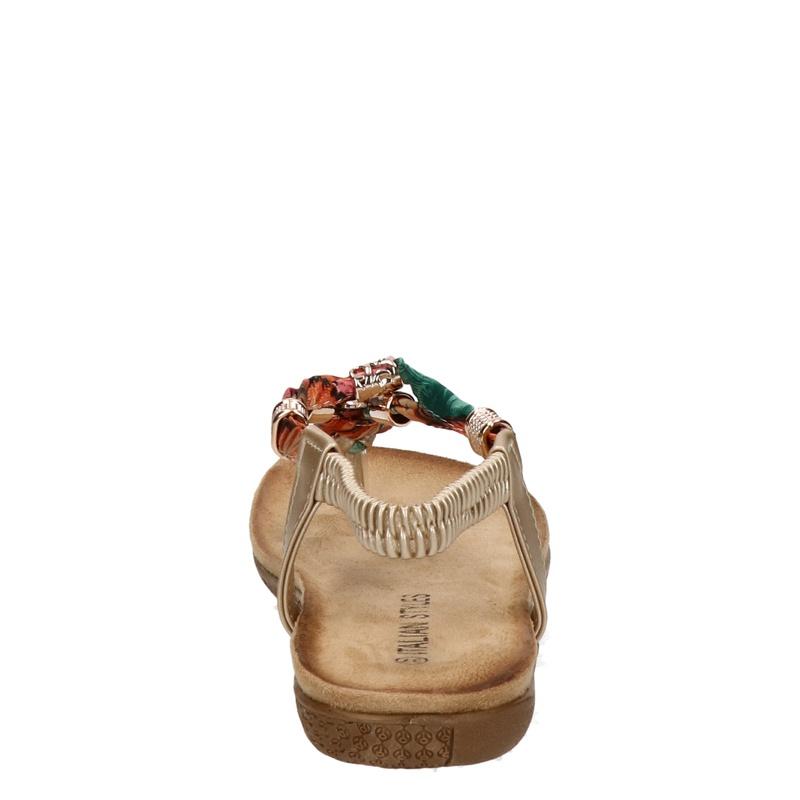 Italian Styles - Sandalen - Goud
