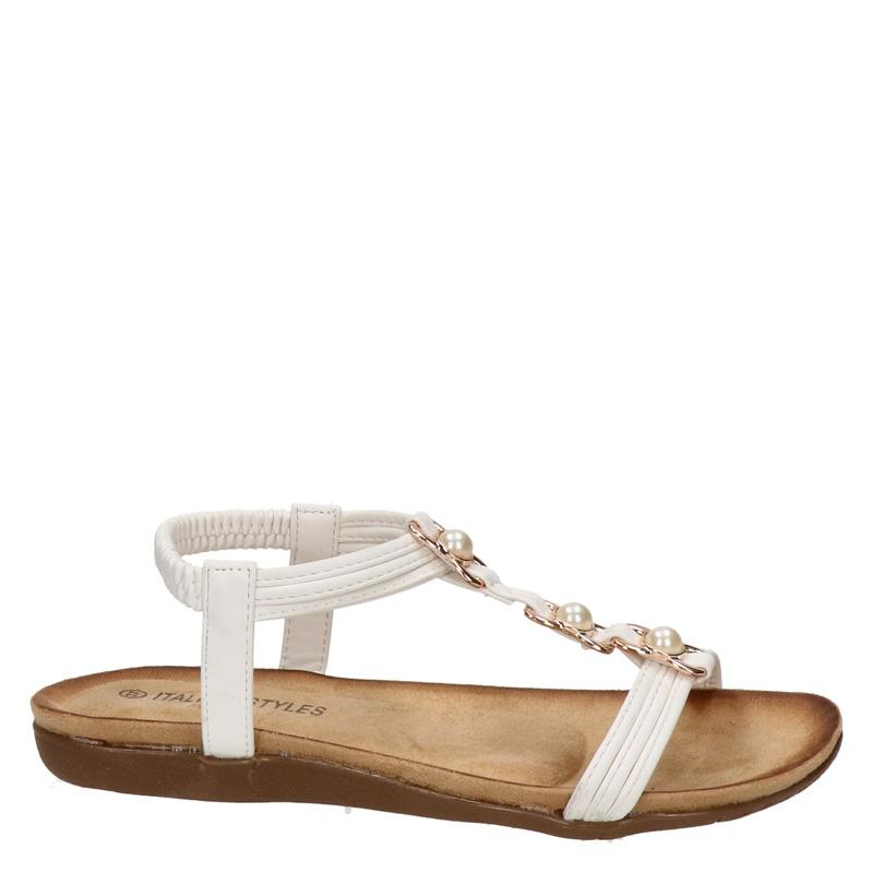 Italian Styles - Sandalen - Wit