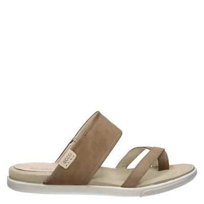 Ecco dames slippers bruin